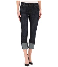 Kut From The Kloth Cameron Straight Leg Jeans In Serendipity W Euro Base Wash Serendipity Euro Base Wash Women's Jeans Blue