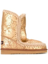 Mou 'Eskimo' Boots Nude And Neutrals