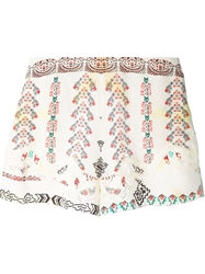 Etro Embroidered Detail Shorts