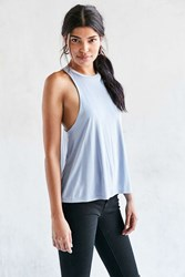 Silence And Noise Jax Racerback Tank Top Lavender