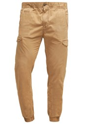 Petrol Industries Cargo Trousers Dark Tobacco Sand