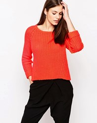 Finders Keepers Moondance Jumper Terracotta Red