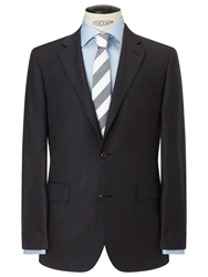 Chester By Chester Barrie Pick And Pick Suit Jacket Tailored Fit Charcoal