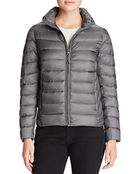 Aqua Puffer Jacket Shiny Grey