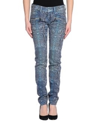Barbara Bui Denim Pants Blue