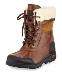 Ugg Butte Ii Leather Hiking Boot Worchester Youth