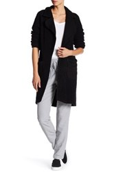 Michael Stars Reversible Cardigan Jacket Black