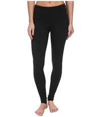 Zobha Trim To Hem Legging Black Women's Workout