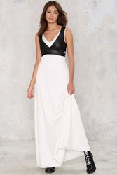 Harness Your Greatness Maxi Dress Black And White