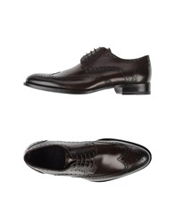 Sebastian Footwear Lace Up Shoes Men Cocoa