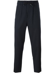 3.1 Phillip Lim Drawstring Trousers Blue
