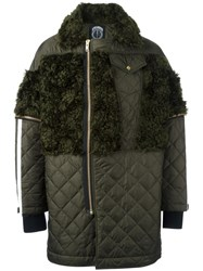 Astrid Andersen Quilted Parka Green