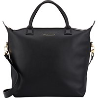 Want Les Essentiels Women's Mirabel Shopper Tote Black Blue Black Blue