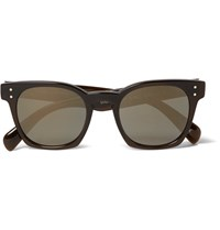 Oliver Peoples Byredo D Frame Acetate Polarised Sunglasses Brown