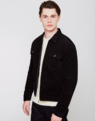 Edwin Panhead Zip Flap Jacket Black