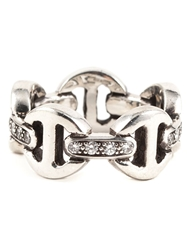 Hoorsenbuhs Tri Link Diamond Ring