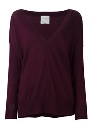 Forte Forte 'My Knit' Jumper Pink Purple
