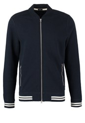 Abercrombie And Fitch Varsity Muscle Fit Tracksuit Top Navy Dark Blue