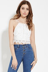Forever 21 Embroidered Lace Cami