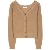 Dorothee Schumacher New Uncertainty Knitted Cashmere Cardigan