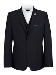 Lambretta Slim Blue Three Piece Suit