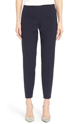 Women's Boss 'Tiluna' Stretch Woven Slim Ankle Trousers Navy