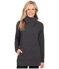 Lucy Journey Within Pullover Asphalt Heather Women's Long Sleeve Pullover Gray