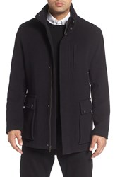 Cole Haan Men's Wool Blend Car Coat