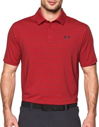 Under Armour Ua Playoff Golf Polo Red Nova Teal