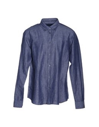 Zegna Sport Shirts Dark Blue