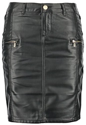 Morgan Mali Pencil Skirt Noir Black