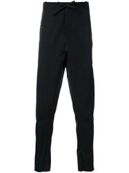 Assin 'Stretch Jogging' Trousers Black