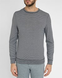 A.P.C. Charles Round Neck Sailor Stripe Sweater