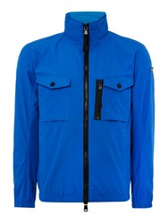 Duck And Cover Crome Light Weight Utility Jacket Sapphire