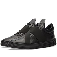 Filling Pieces Low Top Crossed Elastic Sneaker Black