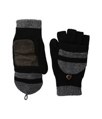 Original Penguin Convertible Mittens Black Extreme Cold Weather Gloves