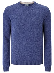 John Lewis Made In Italy Merino Cashmere Jumper Cobalt Blue