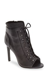 Dolce Vita Women's 'Hampton' Open Toe Lace Up Bootie