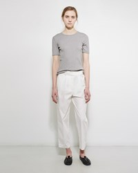 Acne Studios Onno Poplin Trouser Natural