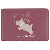 Radley Away With The Fairies Leather Travel Card Holder Red