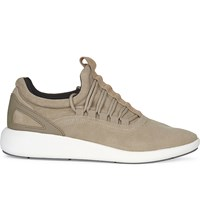 Aldo Oladonia Suede Low Top Trainers Beige