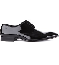Hugo Boss Cristallo Chisel Derby Shoes Black