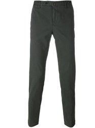 Pt01 Ankle Length Skinny Trousers Grey