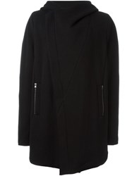 Lost And Found Ria Dunn Hooded Coat Black