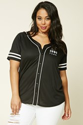 Forever 21 Plus Size Nyc Baseball Jersey