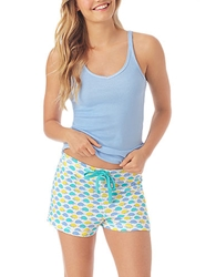 Jane And Bleecker Favorite Ribbed Sleep Shorts
