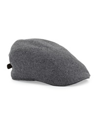 Brunello Cucinelli Wool Newsboy Cap Gray