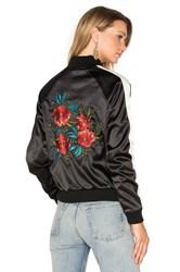Lovers Friends X Revolve The Worldwide Bomber Black And White