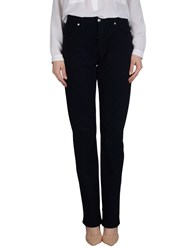 Dirk Bikkembergs Trousers Casual Trousers Women Dark Blue