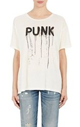 R 13 R13 Punk Oversized T Shirt White
